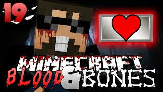 Minecraft FTB Blood and Bones 19 - RED HEART CANISTERS OP(Minecraft Mod Survival FTB)