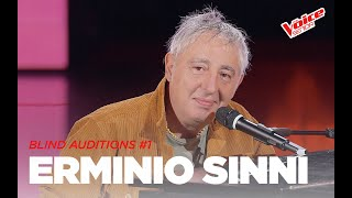 "Ermionio Sinni  ""A mano a mano"" - Blind Auditions #1 - The Voice Senior"