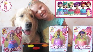 Каппатинис куклы чашки чая Cuppatinis Dolls Сюрпризы для детей распаковка на русском трансформеры