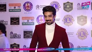 Saqib Saleem Attend The 25th SOL Lions Gold Awards   Bollywood   YOYO Cine Talkies
