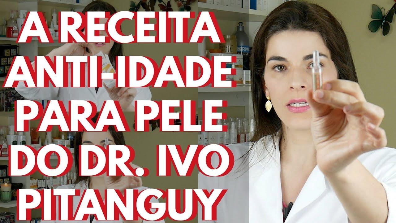 A Receita Anti Idade Do Dr Ivo Pitanguy Creme Para Pele Usado Por