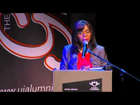 Public Protector, Adv Thuli Madonsela delivers a keynote address at UJ's Alumni and Convocation Day