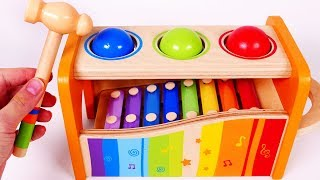 Pounding Table Learn Colors for Preschool and Children