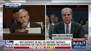 Gowdy: Biased FBI Agents 'Prejudged Outcomes' of Clinton & Russia Probes