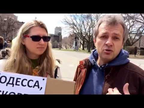Interview with immigrants from Odessa. Toronto, Canada. 2014-04-27