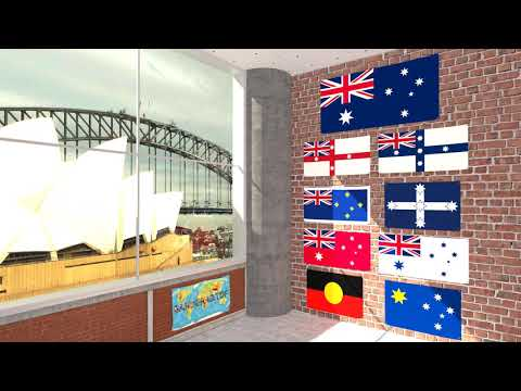 Himno y banderas de Australia | Australia flags and anthem
