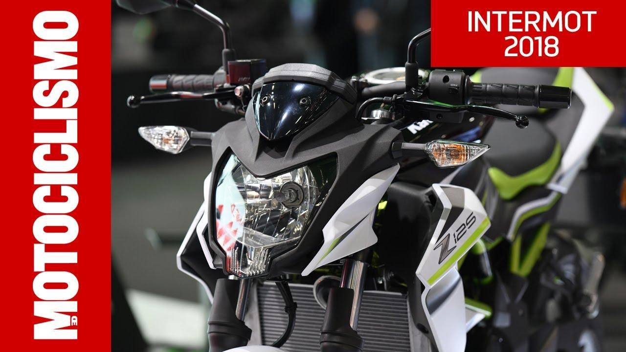 Kawasaki Z125 2019 Intermot 2018 Youtube