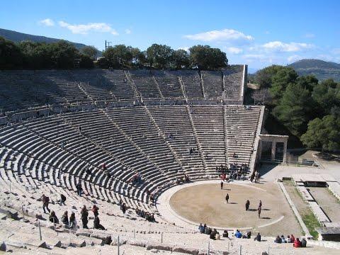 The Archaeological Site of Epidaurus , Greece