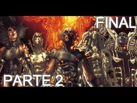 X FORCE - APOCALIPSIS LA SOLUCION parte 2 - wolverine deadpool x men