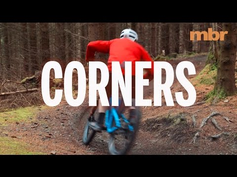 How to corner properly on a mountain bike, with Dirt School | MBR