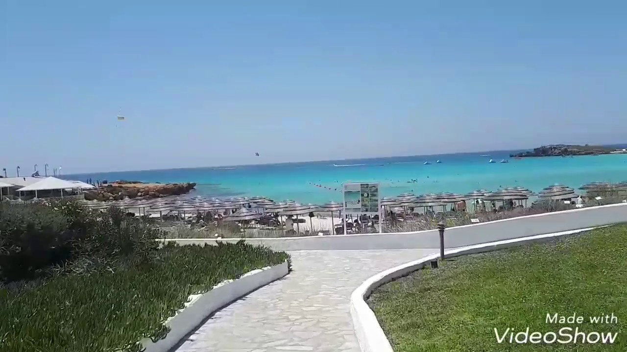 Nissi Beach Кипр - YouTube
