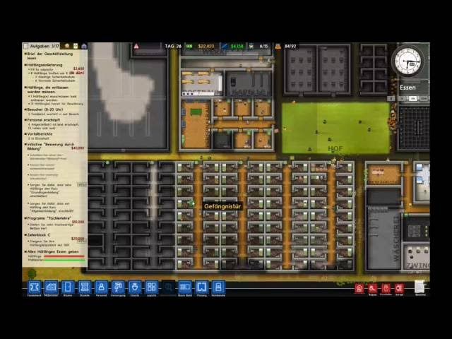 Let's Play Prison Architect | Unfähige Arbeiter | Folge #019