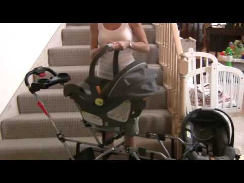 chicco keyfit 30 car seat baby trend double snap n go demo 09 05 2009 youtube. Black Bedroom Furniture Sets. Home Design Ideas