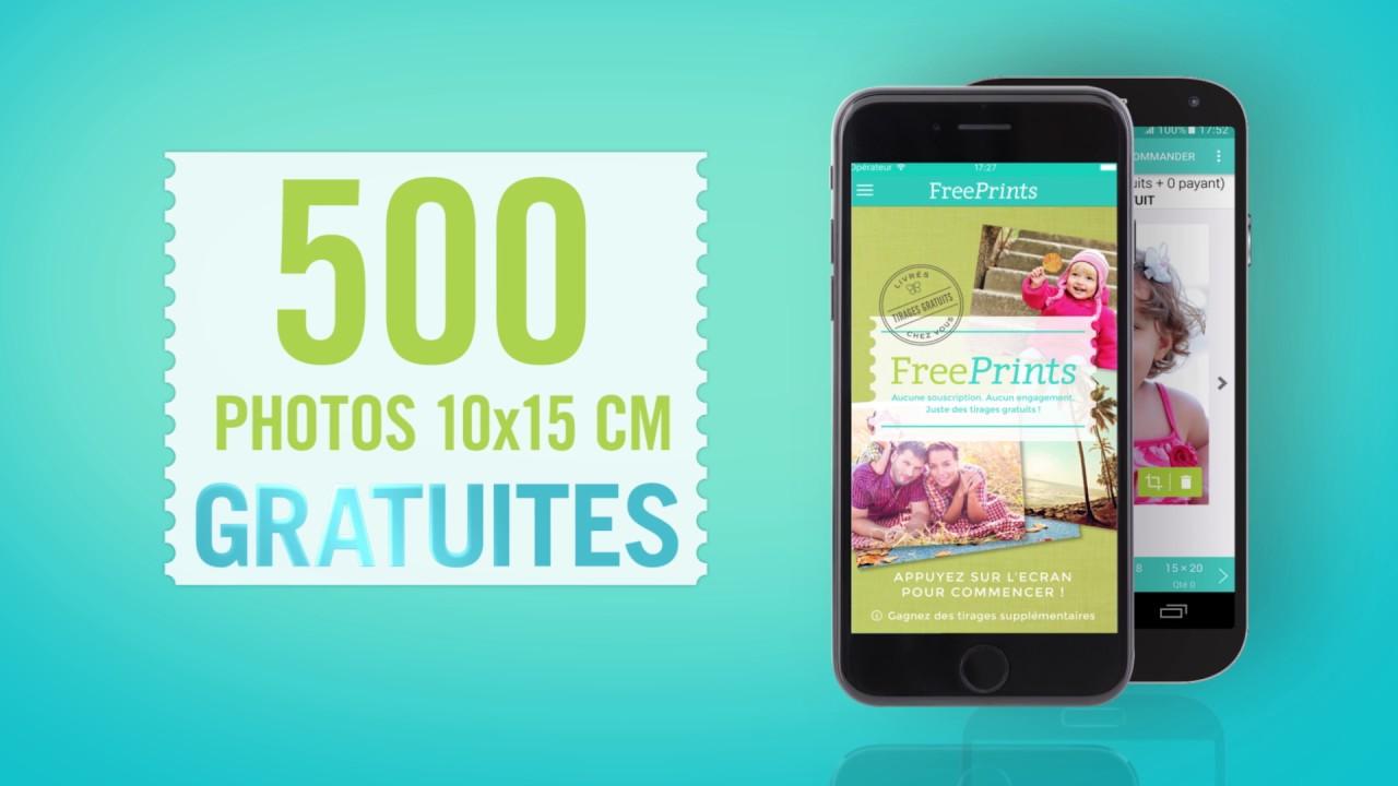 free prints frais de port gratuit 2017