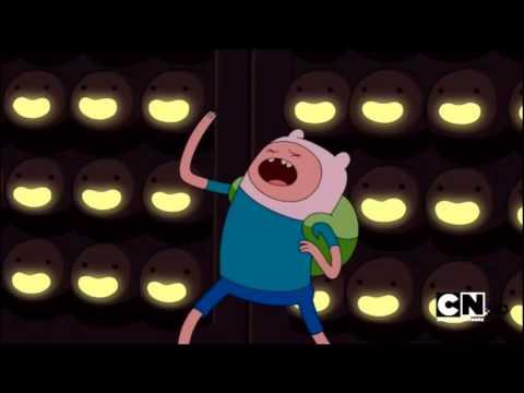 AdventureTime- Finn sings