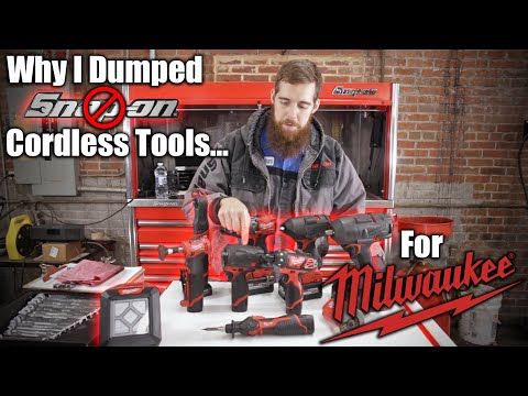 Why I Dumped Snap-on Cordless Tools For Milwaukee!