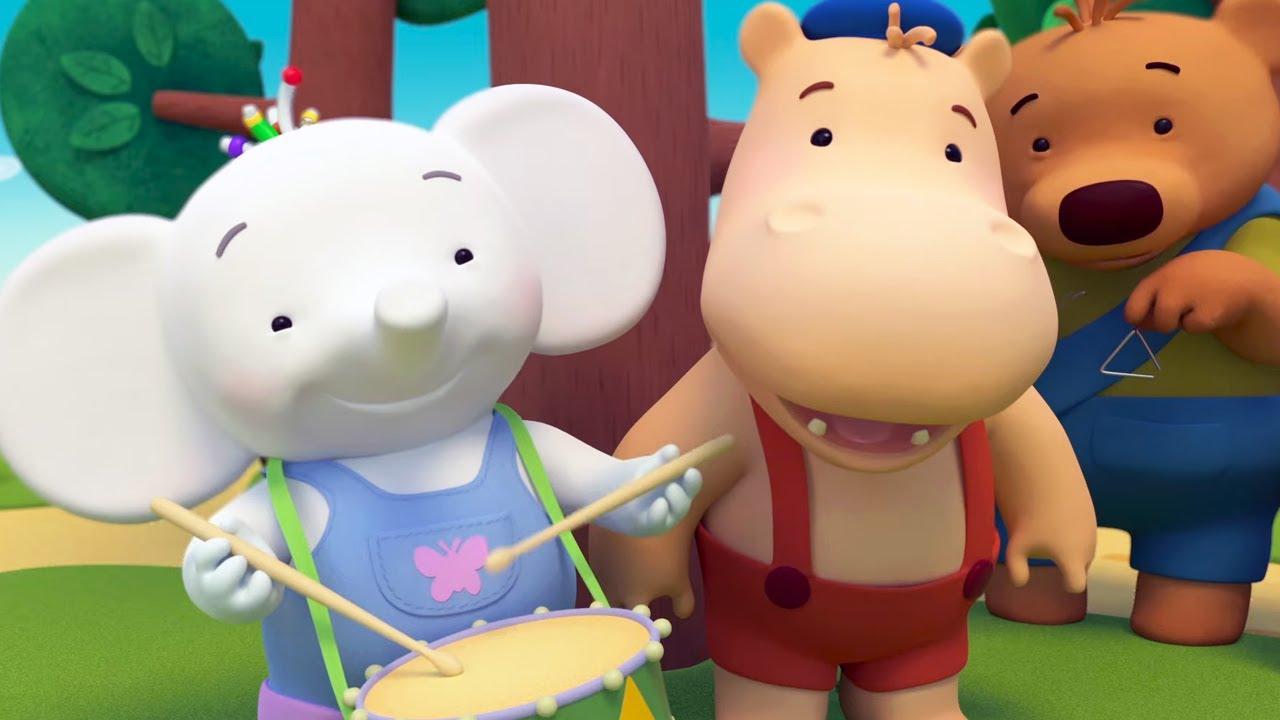 Тима и Тома 🎼 Барабан - Приключения Комедия Мультик для детей