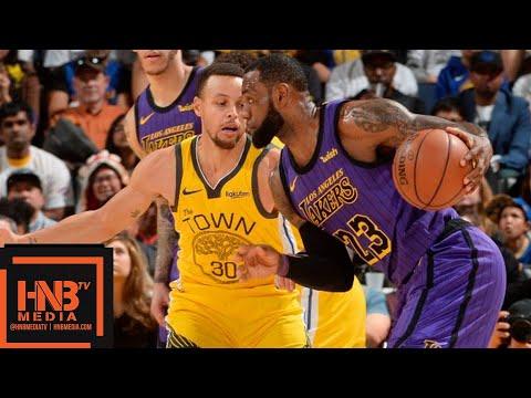 LA Lakers vs GS Warriors Full Game Highlights | 12/25/2018 NBA Season