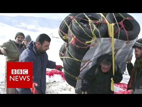 The gruelling life of a Kurdish smuggler - BBC News
