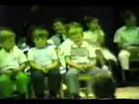 Newberry Academy 1984 Kindergarten Graduation