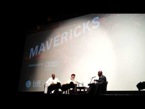 Chris Tucker Surprise Visit with Jackie Chan at TIFF 2012