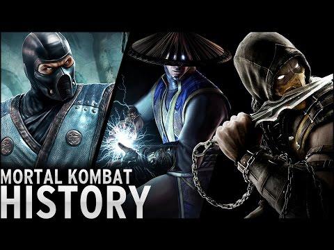 History of - Mortal Kombat (1992-2015)