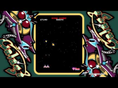 ARCADE GAME SERIES: GALAGA Challenge stage 27 perfect ps4