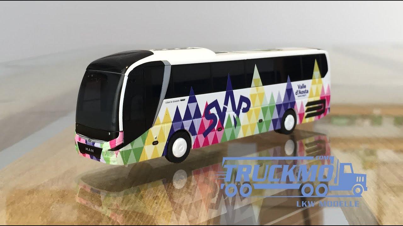 74835 Rietze autobús chocó MAN Lion/'s Coach /'17 svap it