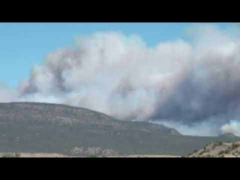 Durango fire Ute Park and Colorado wildfire 416 fire forces evacuations