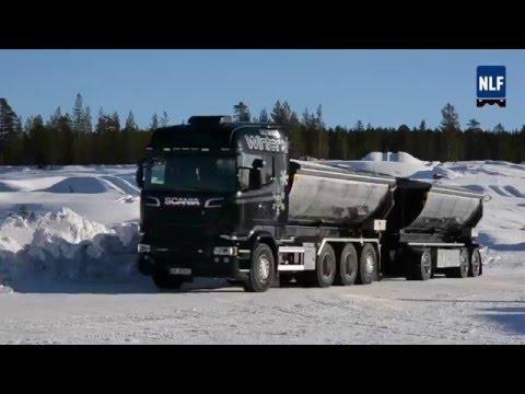 Scania tester HVO i norsk vintervær