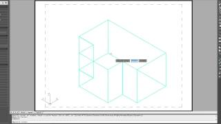 How To Hide and Print A 3D CAD Drawing in Paperspace