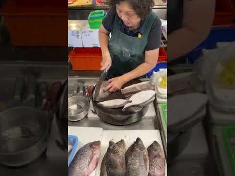 阿嬤切鱈魚