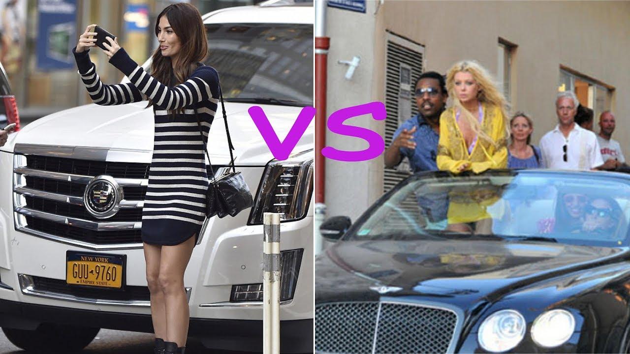 40db7db4a0b5f Lily aldridge cars vs Tara reid cars (2018) - YouTube