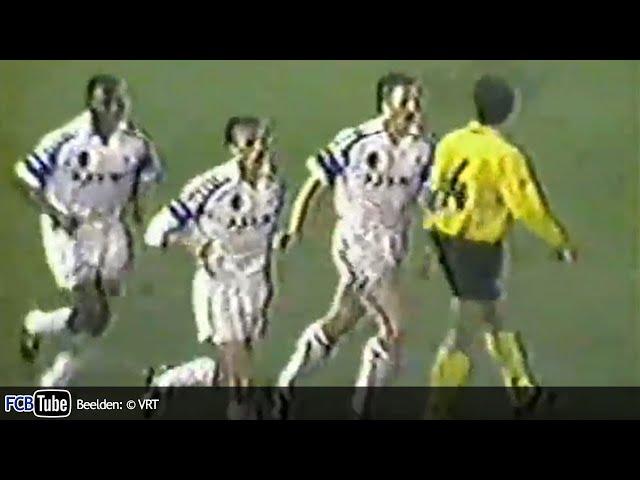 1991-1992 - Jupiler Pro League - 24. Club Brugge - Lierse SK 4-1