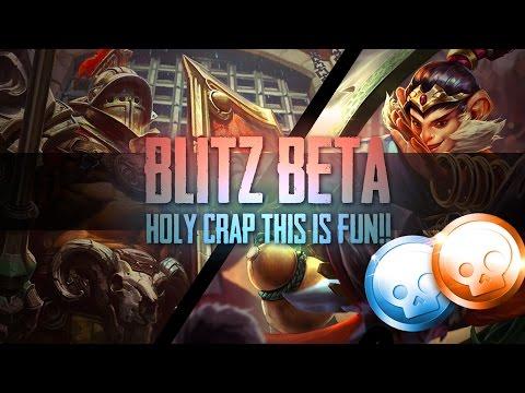 Vainglory Blitz Beta- Ep 1: HOLY CRAP THIS IS FUN!! Lance/Ozo |WP| Gameplay [Update 2.1]