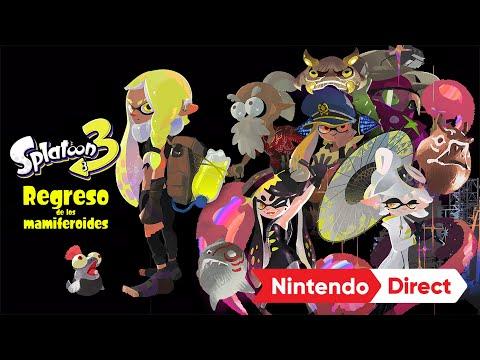 Splatoon 3 – ¿El regreso de los mamiferoides? (Nintendo Switch)