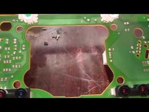 Ремонт приборной панели Пассат Б3. Repair dashboard Passat B3.