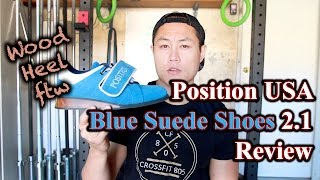 Position USA Blue Suede Shoes 2.1 Review - Olympic Weightlifting Shoes