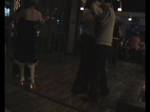Club Latino Jakarta - Tango Introduction by Stefanie & Ogie