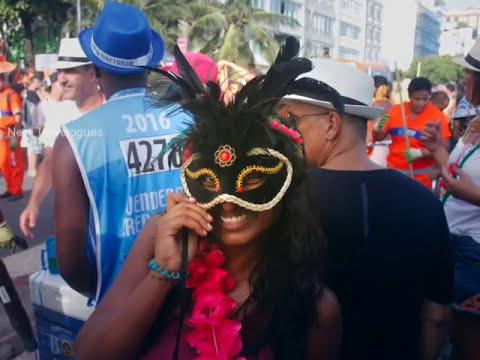 Brazilian Carnival 2017   Rio Carnival   Rio Carnival At Ipenama Beach   Carnaval do Brasil