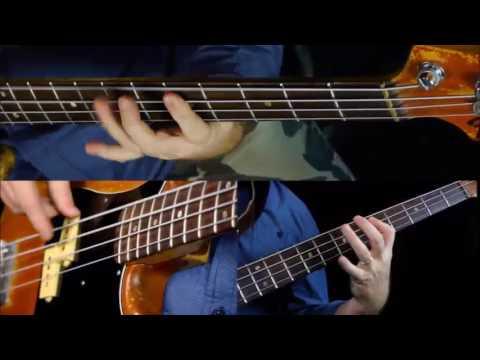Download Easy Pentatonic Riffs - Bass Guitar Lesson