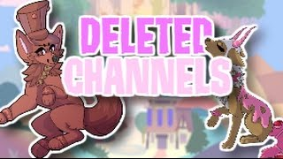 ANIMAL JAM YOUTUBERS WHO HAVE DELETED THEIR CHANNELS