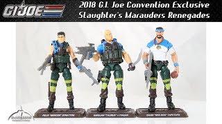 2018 GI Joe Convention Exclusive SPIRIT Slaughter/'s Marauders MOC!