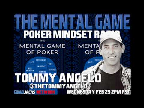 Tommy Angelo With Jared Tendler On The Mental Game QuadJacks Feb 29 2012