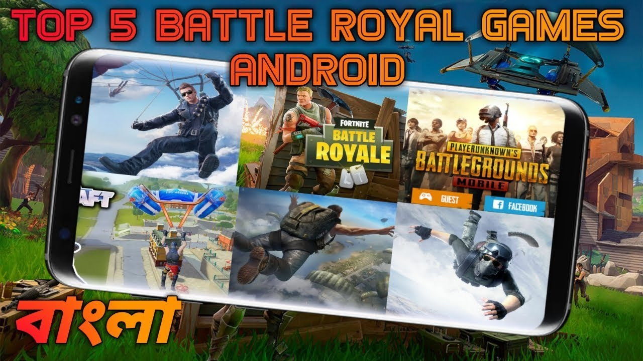 Top 6 Games Like Fortnite Battle Royale On Android 2018