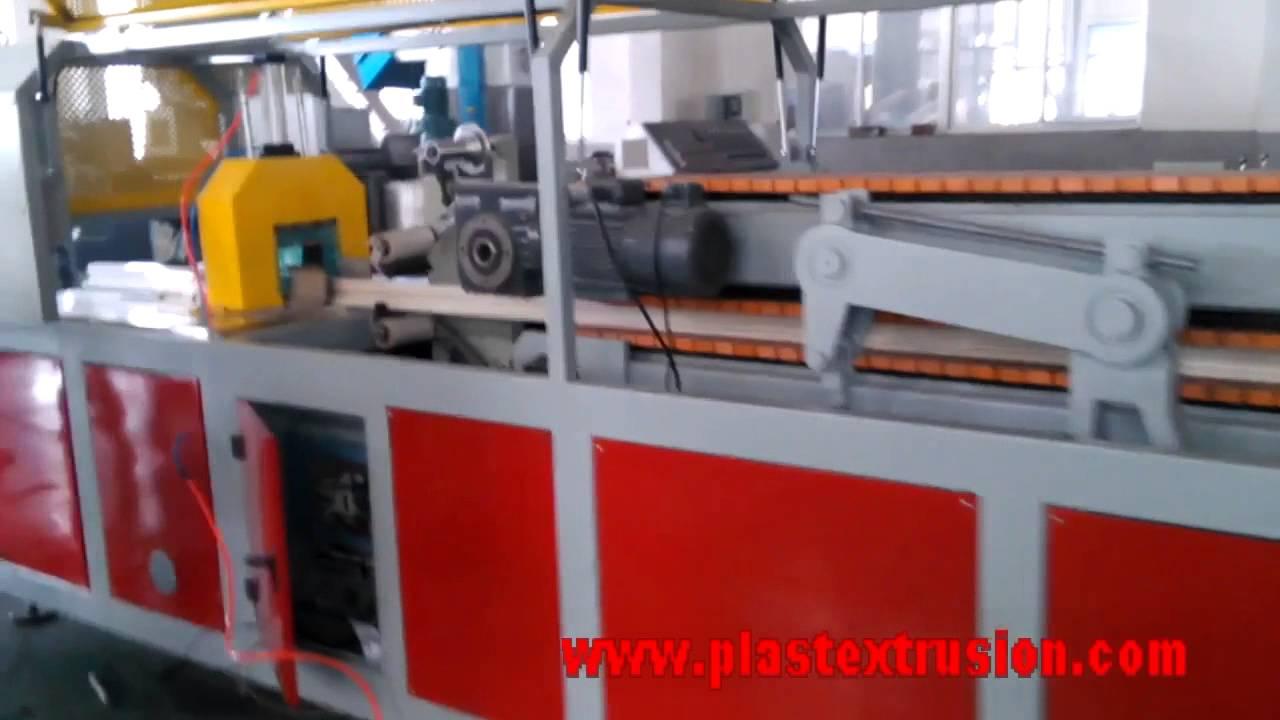 Pvc Profile Extrusion Line Pvc Window Door Profile Making Machine