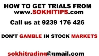 Jackpot Calls of Indian Stock Markets - Nifty Futures, Nifty Options, Stock Futures and Options