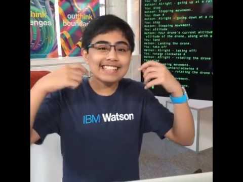 Watson Conversation Co-Piloting a Parrot AR.Drone 2.0 (IBM IoT Platform)