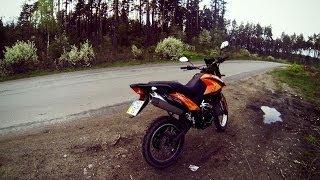 Катание на  мотоцикле Viper V250VXR Irbis XR250 №3