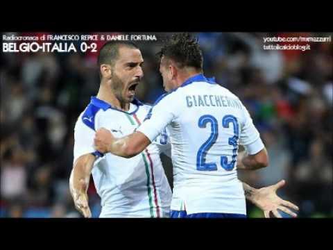 BELGIO-ITALIA 0-2 - Radiocronaca di Francesco Repice & Daniele Fortuna (13/6/2016) EURO 2016 (Radio)